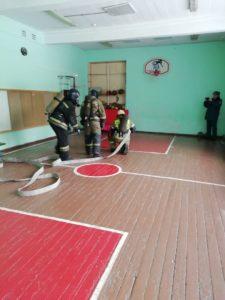 Пожарные учения 2